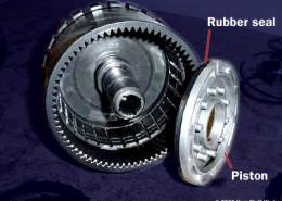 Elementy budowy skrzyni biegów automatycznej