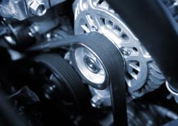 Element skrzyni automatycznej w samochodzie