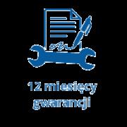 Ikona przedstawiająca 12 miesięcy gwarancji